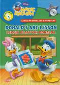 Magic English Czytaj po angielsku z Disneyem  Donald`s Art Lesson z płytą CD. Lekcja plastyki Donalda Poziom 1