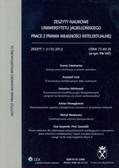 Zeszyty naukowe Uniwersytetu Jagiellońskiego zeszyt 115