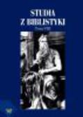 red. Bartnicki R. - Studia z biblistyki, T. 8