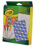 Crayola Szablony do kolorowania. Zestaw podróżny