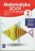 Praca zbiorowa - Matematyka 2001 2 Zeszyt ćwiczeń część 1. gimnazjum