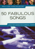 Really Easy Piano Collection 50 fabulous songs. From pop songs to classical themes