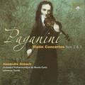 Alexandre Dubach, Orchestra Philharmonique de Monte-Carlo, Lawrence Foster - Paganini: Violin Concertos 2 & 5
