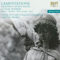 Choir of Claire College, Timothy Brown - Lamentations. Palestrina: Stabat Mater, Allegri: Miserere