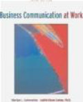 Judith Olson-Sutton,Marilyn Satterwhite - Business Communication at Work