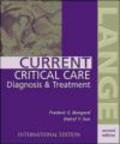 Darryl Sue,Frederic Bongard,F Bongard - Current Critical Care Diagnosis & Treatment