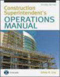 Sidney Levy,S Levy - Construction Superintendent Operations Manual