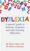 Helen Likierman,Valerie Muter,V Muter - Dyslexia