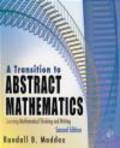 Randall Maddox,R Maddox - Transition to Abstract Mathematics