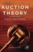 Vijay Krishna,K Krishna - Auction Theory 2e