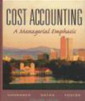 Srikant Datar,Charles Horngren - Cost Accounting Managerial Emphasis 11e