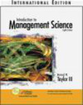 Bernard Taylor - Introduction to Management Science