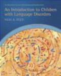 Vicki Reed,Vicki A. Reed - An Introduction to Children with Language Disorders
