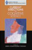 Barbara Spellman,Association for Psychological Science,Daniel Willingham - Current Directions in Cognitive Science