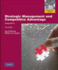 Jay Barney,William Hesterly,J Barney - Concepts Strategic Management and Competitive Advantage 3e