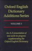 Simpson - Oxford English Dictionary Assitions Series v.3