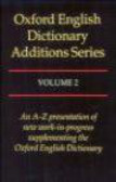 Simpson - Oxford English Dictionary Assitions Series v.2