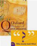 E Knowles - Oxford Dictionary of Quotations 7e