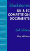 Middleton - Uk & EC Competition Law Documents