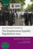 Nicholas De Marco,N Marco - Blackstone`s Guide the Employment Equality Regulations 2003
