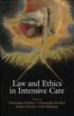 C Danbury - Law & Ethics in Intensive Care