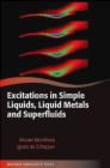Ignatz de Schepper,Wouter Montfrooij,W Montfrooj - Excitations in Simple Liquids, Liquid Metals and Superfluids