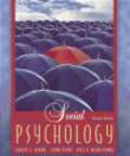 Robert Baron,Donn Byrne,Nyla Branscombe - Social Psychology