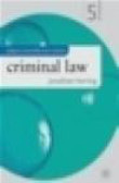 Jonathan Herring,J Herring - Criminal Law 5e