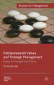 Vittorio Coda - Entrepreneurial Values and Strategic Management