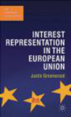 Justin Greenwood - Interest Representation in the European Union