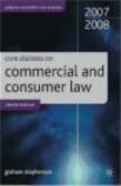 Graham Stephenson,G Stephenson - Core Statutes On Commercial Law