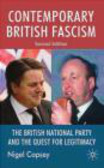Nigel Copsey,N Copsey - Contemporary British Fascism