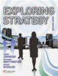 Gerry Johnson - Exploring Strategy Text Only Plus MyStrategyLab and the Strategy Experience Simulation