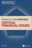 Brian Finch,B Finch - Financial Times Briefing Critical Financial Issues