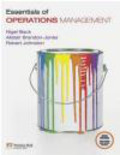 Robert Johnston,Alistair Brandon-Jones,Nigel Slack - Essentials of Operations Management with MyOMLab
