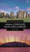 Nigel Jones,N Jones - Architecture of England Scotland & Wales