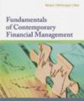 Ramesh Rao,James McGuigan,Charles Moyer - Fundamentals of Contemporary Financial Management