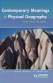 Trudgill - Contemporary Meanings in Physical Geography