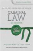 Damian Warburton,D Warburton - Key Statutes Criminal Law