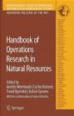 A. Weintraub - Handbook of Operations Research in Natural Resources