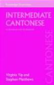 Virginia Yip,Stephen Matthews - Intermediate Cantonese a Grammar and Workbook