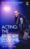 R Blair - Acting The First Six Lessons