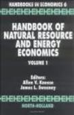 Allen Kneese - Handbook of Natural Resource & Energy Economics v 1