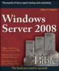 Jeffrey Shapiro,J Shapiro - Windows Server 2008 Bible