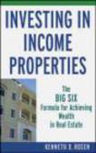 Kenneth D. Rosen,K Rosen - Investing in Income Properties