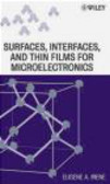 Eugene Irene,E Irene - Electronic Material Science and Surfaces Interfaces