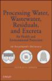 Nicolas Adrien,N Adrien - Processing Water Wastewater Residuals and Excreta for Health