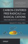 S Rokita - Carbon-Centered Free Radicals and Radical Cations