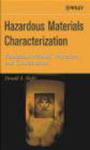 B Shafer - Hazardous Materials Characterization
