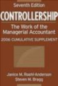 Steven Bragg,Janice Roehl-Anderson,J Roehl-Anderson - Controllership The Work of the Managerial
